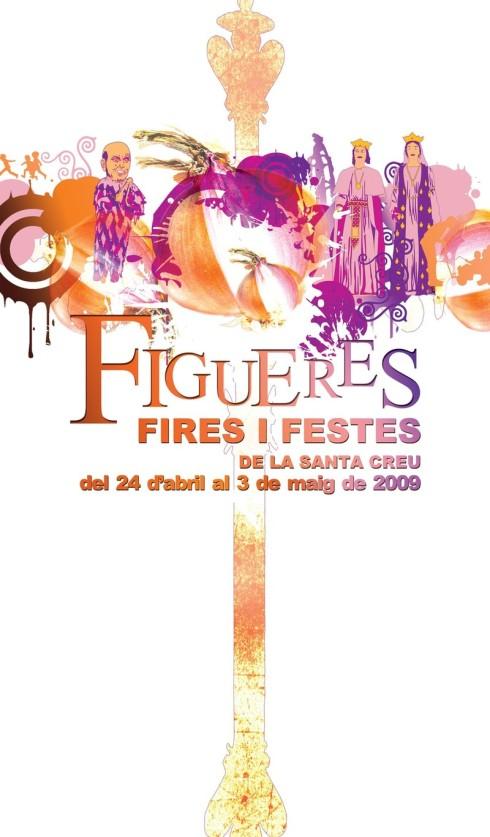 Cartell de les Fires Figueres 2009