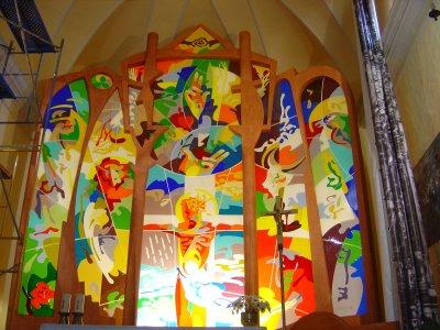 El Crist de Fluvià, de Josep Ministral.