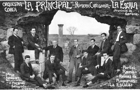 La Principal de l'Escala. Font: http://www.princescala.org/historia.html