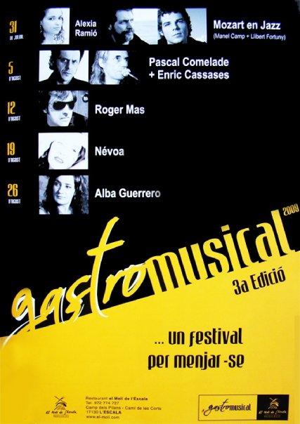 gastromusical escala 2009