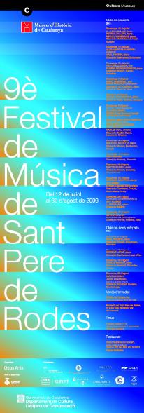 Festival Sant Pere Rodes 2009