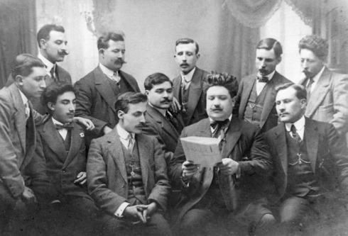 Cobla Selvatana, 1913. Font: www.amicsdelasardana.net
