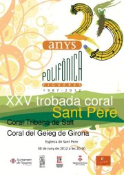 XXV trobada de Corals Sant Pere Figueres 2012 Sonabe