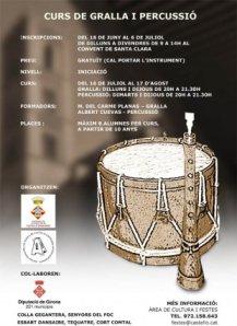 curs gralla percussio 2012 sonabe castello empuries