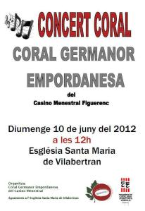 coral germanor empordanesa sonabe 2012 vilabertran