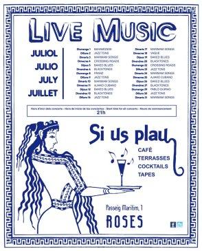 si us plau concerts roses sonabe 2012 estiu