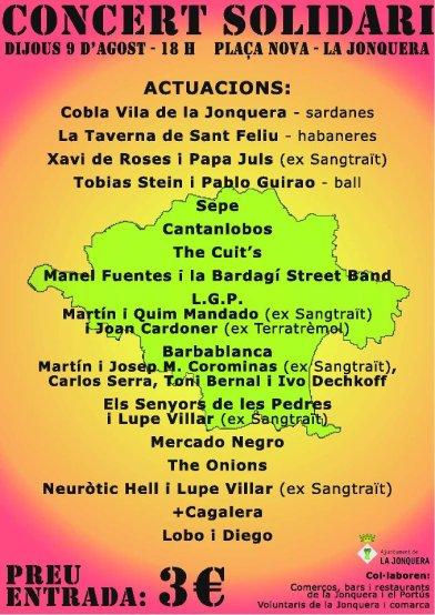 concert solidari la jonquera 2012 sonabe