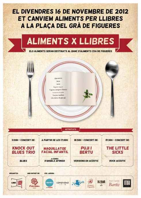 llibres x aliments low cost figueres 2012 sonabe