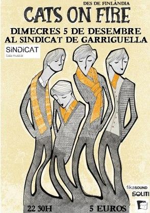 cats on fire 2012 garriguella sindicat