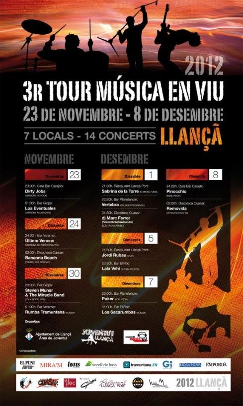 tour musica viu llança 2012 sonabe