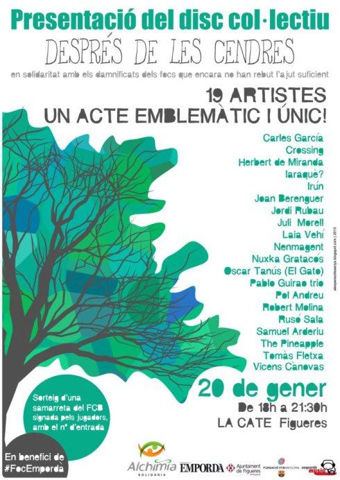 despres cendres sonabe 2013 concert
