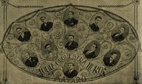 Cobla Iluro 1926. Fotografia del bloc http://fotosformacionsmusicalsdecatalunya.blogspot.com.es