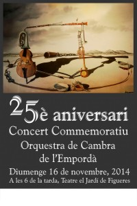 Cartell 25 anys