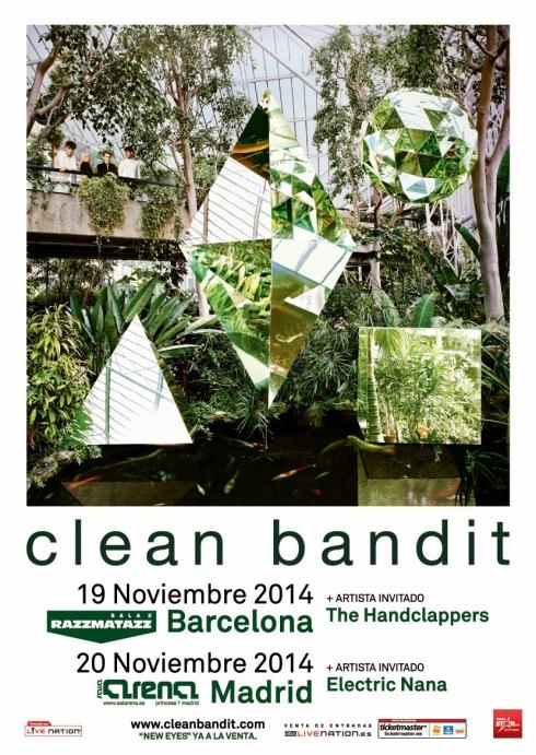 Clean Bandit concierto razz
